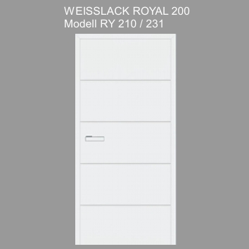 Tuer_Weisslack_royal_200_RY210
