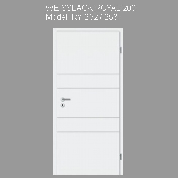 Tuer_Weisslack_royal_200_RY252